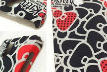Handmade Phone Cases / DIY Handmade fabric phone cases