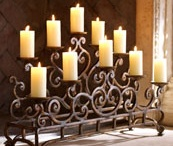 By candle light and Lamps / by George Harrington