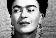 Frida Kahlo - the one and only. / My biggest fascination when it comes to painting and painters, I love her powerfull voice screaming trough every single piece of her art, I admire and dare to get inspired from time to time.