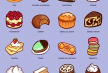 French Foods and Desserts