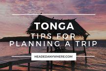 Tonga Travel Inspiration / Inspiration for your Tonga trip