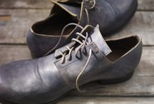 Men's derby / HANDMADE, HAND DYED MENS SHOES
