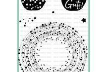 Stempelset Sternenkreis