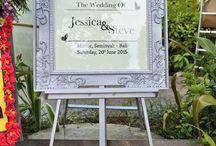 Royal Blue Wedding Bali