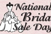 National Bridal Sale Day!