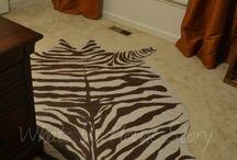 Hand painted rugs / by Debra-Carolyn Morris Brennan