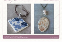porcelain and ceramic jewellery / by Annie Clough