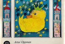 seria ZE SKRZATEM (KAW publishing) -covers / Seria wydawana przez KAW od 1980, oprac.graf. Ewa Gaudasińska, nakład 200-300 tys., adresowana do dzieci w wieku 5-7 lat