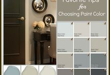 HOUSE paint colors in/out
