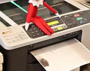 Elf on the Shelf / We have been so inspired by the creative lengths some will go through to be original...