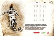 Table top calender