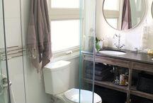 Boys' bathroom redo / by Elizabeth