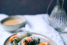 Vegetarian meals / Vegetarian dinners, vegetarian snacks, healthy everyday food