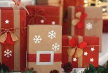 cajas de regalo navideño