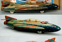 Space ship. Space scout x300 Mars dream jet marusan Japan / Space ship tin toy Japan. Space rocket toy