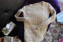 Tricot.Crochet / Des réalisations au tricot et au crochet