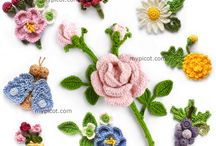 Crotchet flowers