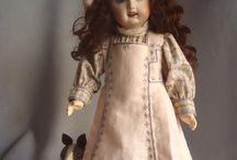 jouets anciens / poupées - ours en peluches