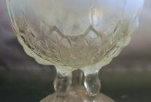 Crystal & Glass / Antique Crystal & Glass, including brilliant, depression, carnival, vasoline and elegant. / by Ogden Lane
