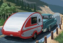 Oh, The Places We'll Go! / We are buying a teardrop camper trailer to enjoy our world over the coming years!  This is my board of places I want to visit in it and ideas for an epic camping lifestyle!