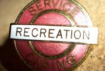 ACTIVITY and RECREATION Lapel Pins