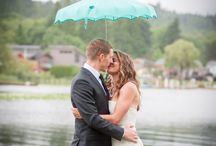 Katie and Bennet / Summer on Lake Samish