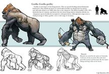 Gorilla Art and Reference