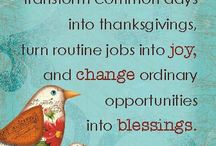 Attitude of Gratitude / Here you'll find posts that encourage thanksgiving and help us to walk out a life of gratitude.
