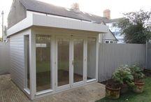 Customer Garden Studios / Featured Garden Studios installed into our customers gardens. Our full range of our Garden Studios can be found at:- https://www.cranegardenbuildings.co.uk/garden-studios-and-offices