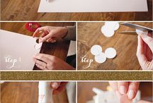 Crafts: flowers paper