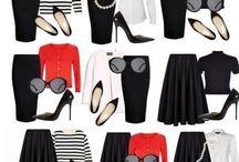wear red capsule wardrobe