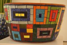 Mosaics - pots and other containers