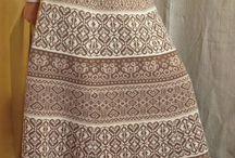 юбка орнаментом.