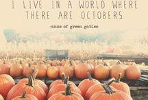 Autumn / L'automne et ses feuilles qui volent...