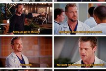 Grey's anatomy / Can't even begin to describe my love for this series!