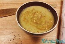 RECETTE automne : soupes