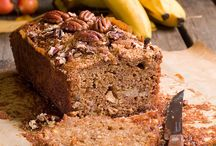 Cakes, loaves and sweet breads