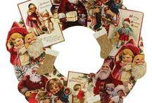 Vintage Old World Christmas Decorations / Vintage old world and retro christmas decorations
