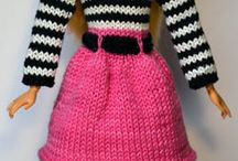 barbie doll knitting patterns
