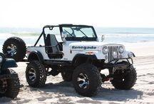 jeep cj7 renegade bianca