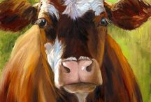 Animal Art - Moo!