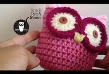video tutorial gufo crochet