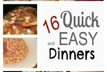 food - quick and easy