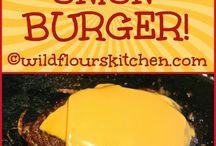 Hmm lecker burger