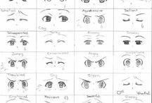 occhi chibi
