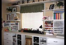 Craft Room Storage Ideas / by Origami Owl-Viki Berry Designer # 200348586