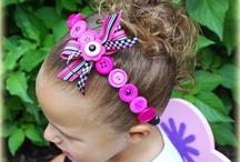 girls hair stuff / by Missy Sanders