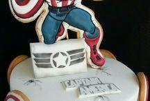 Tartas súper héroe