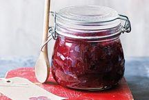 Chutneys, jams and spices
