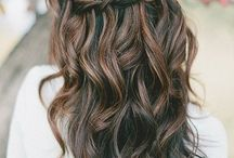 hairstyles for Anna's bridesmaids